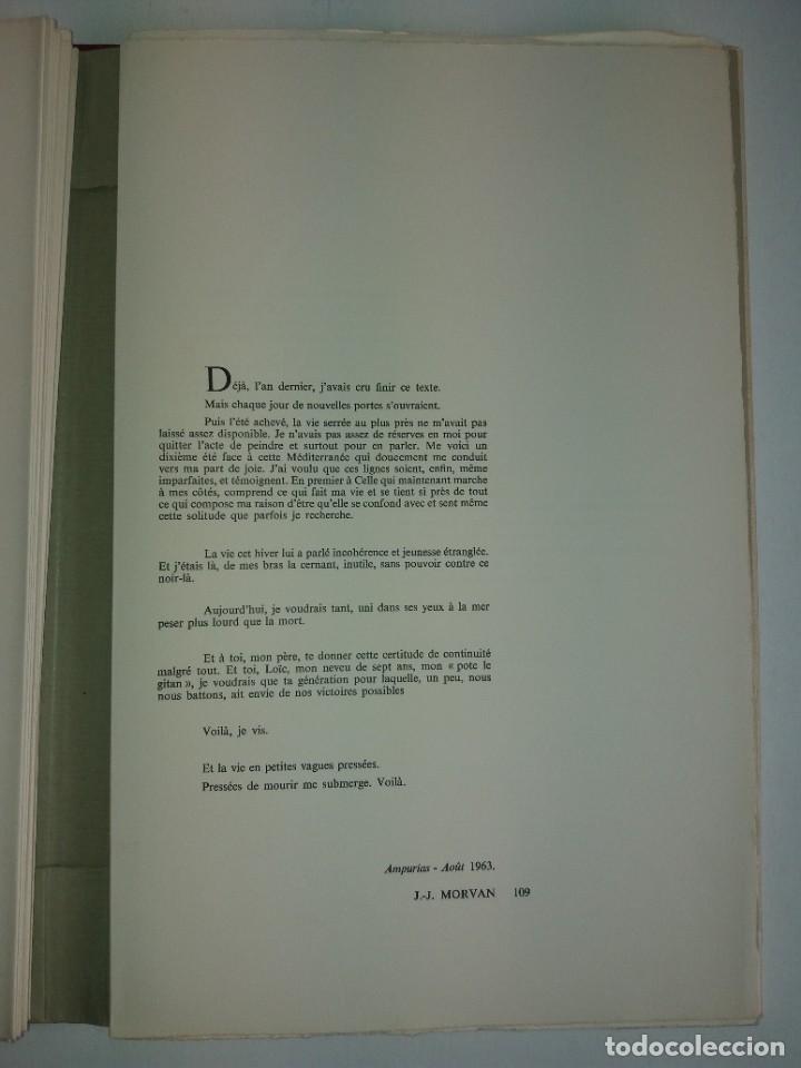 Libros: EXCEPCIONAL Y BELLO LOS COLORES DEL VERBO SER SOLO 50 EJEMPLARES NUMERO 20 1965 - Foto 17 - 216355237