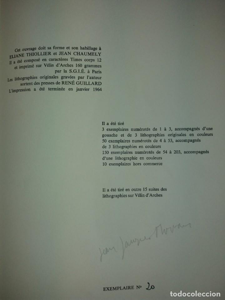 Libros: EXCEPCIONAL Y BELLO LOS COLORES DEL VERBO SER SOLO 50 EJEMPLARES NUMERO 20 1965 - Foto 19 - 216355237