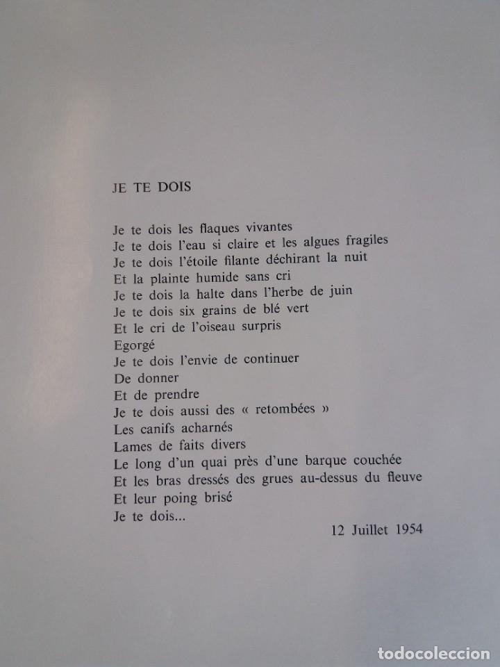 Libros: EXCEPCIONAL Y BELLO LOS COLORES DEL VERBO SER SOLO 50 EJEMPLARES NUMERO 20 1965 - Foto 33 - 216355237