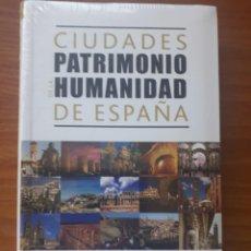 Libros: LIBRO CIUDADES PATRIMONIO DE ESPAÑA. ALCALÁ, BAEZA, CÁCERES, CÓRDOBA, CUENCA, MÉRIDA ................ Lote 218221572