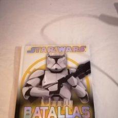 Libros: LIBRO: STAR WARS BATALLAS POR LA GALAXIA. Lote 220281883