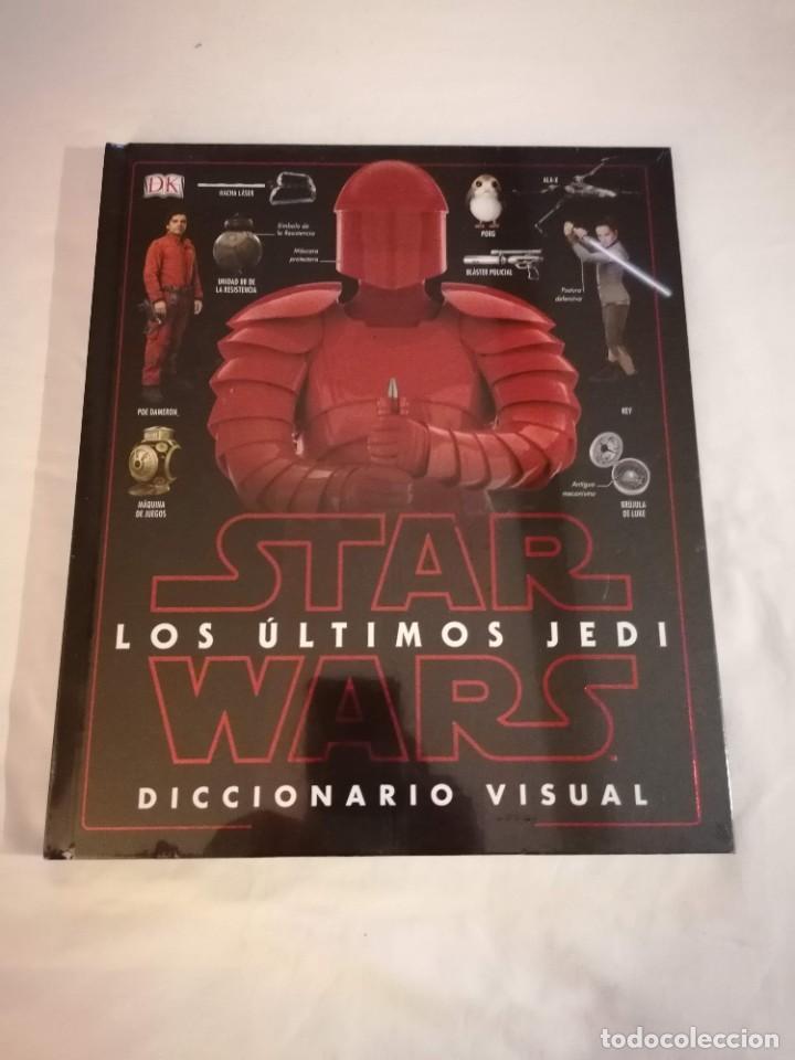 LIBRO: STAR WARS LOS ULTIMOS JEDI. DICCIONARIO VISUAL (Libros Nuevos - Bellas Artes, ocio y coleccionismo - Otros)