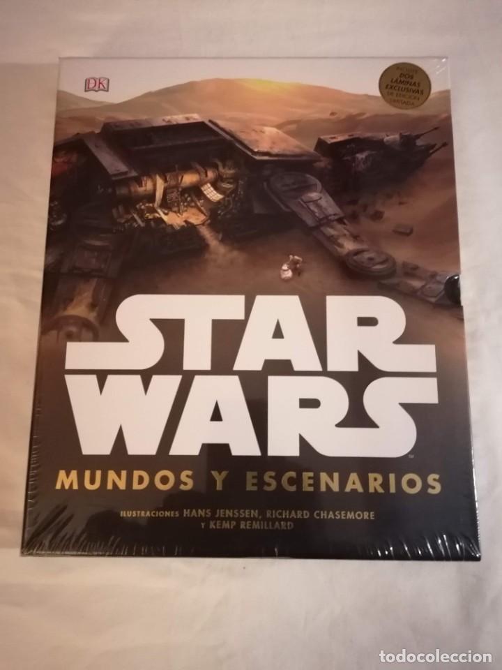 LIBRO: STAR WARS MUNDOS Y ESCENARIOS (Libros Nuevos - Bellas Artes, ocio y coleccionismo - Otros)