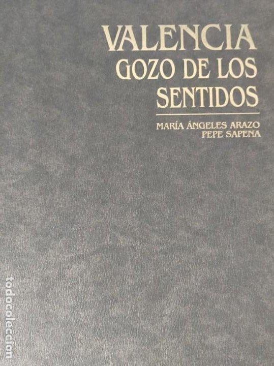VALENCIA GOZO DE LOS SENTIDOS --- ARAZO, Mª ANGELES --- SAPENA, PEPE (Libros Nuevos - Bellas Artes, ocio y coleccionismo - Otros)