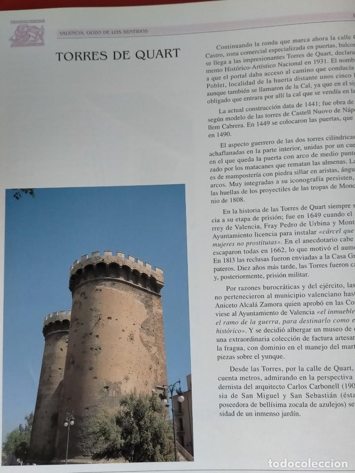 Libros: VALENCIA GOZO DE LOS SENTIDOS --- Arazo, Mª Angeles --- Sapena, Pepe - Foto 5 - 220574372