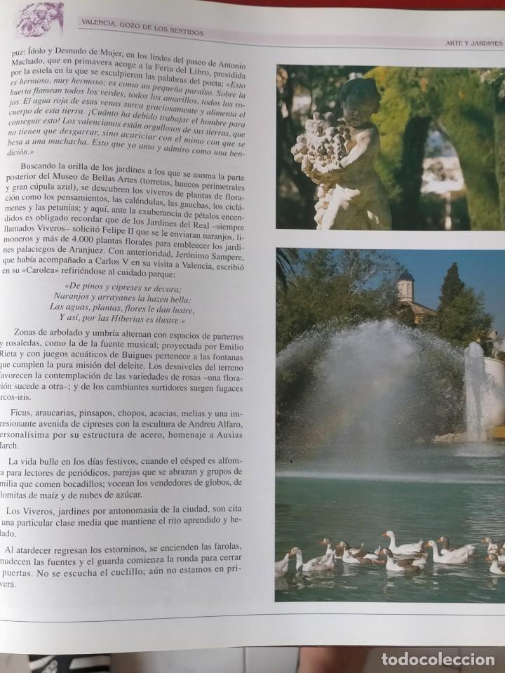Libros: VALENCIA GOZO DE LOS SENTIDOS --- Arazo, Mª Angeles --- Sapena, Pepe - Foto 6 - 220574372