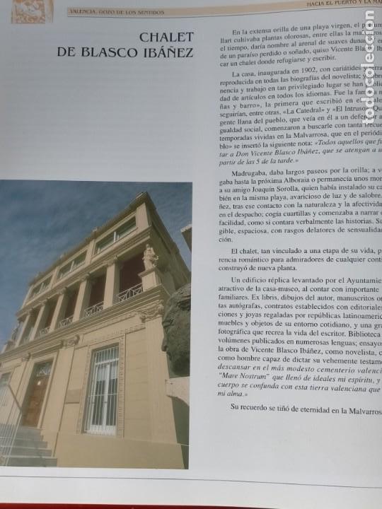 Libros: VALENCIA GOZO DE LOS SENTIDOS --- Arazo, Mª Angeles --- Sapena, Pepe - Foto 10 - 220574372