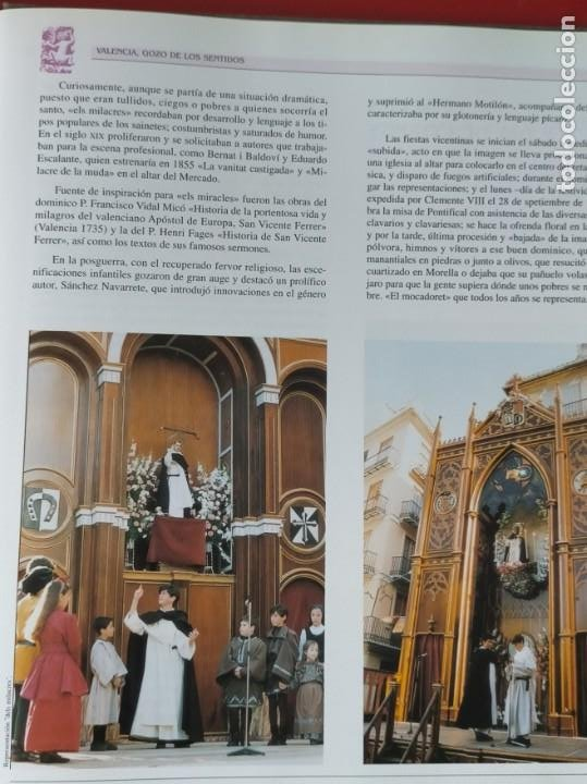 Libros: VALENCIA GOZO DE LOS SENTIDOS --- Arazo, Mª Angeles --- Sapena, Pepe - Foto 11 - 220574372