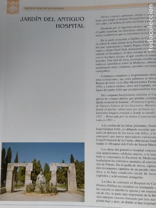Libros: VALENCIA GOZO DE LOS SENTIDOS --- Arazo, Mª Angeles --- Sapena, Pepe - Foto 12 - 220574372