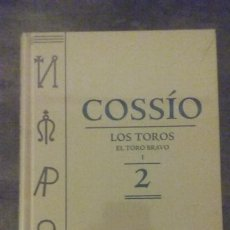 Libros: LOS TOROS. EL TORO BRAVO I. COSSIO TOMO 2.ESPASA.. Lote 221007142
