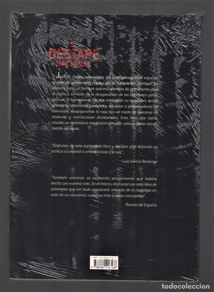 Libros: EL DESTAPE NACIONAL CRÓNICA DEL DESNUDO EN LA TRANSICIÓN JPONCE GLÉNAT 2004 1ª EDICIÓN PLASTIFICADO - Foto 9 - 221238838