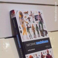 Libros: INFORME MADELMAN VOL. 2 JON DIEZ DE ULZURRUN - DIABOLO EDICIONES. Lote 221408381