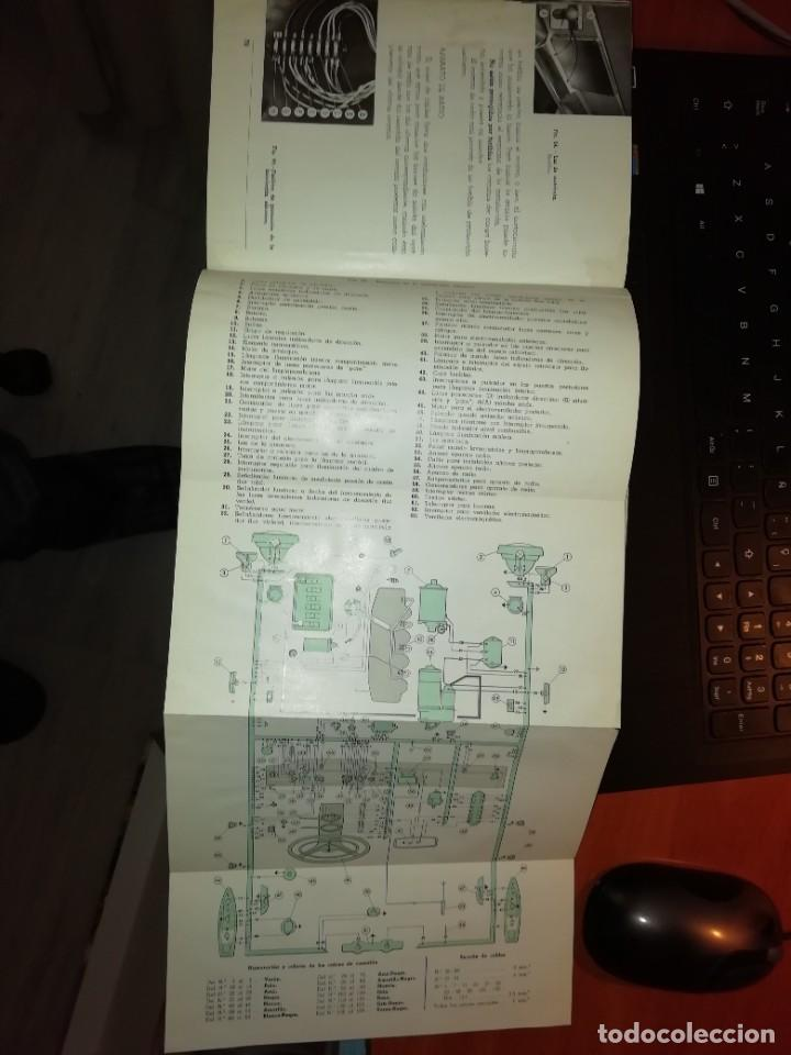 Libros: SEAT 1500 LIBRO DE USO Y ENTRETENIMIENTO AÑO 1963 - Foto 3 - 128763995