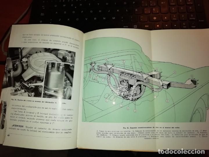 Libros: SEAT 1500 LIBRO DE USO Y ENTRETENIMIENTO AÑO 1963 - Foto 4 - 128763995