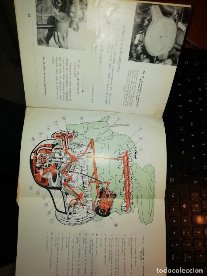 Libros: SEAT 1500 LIBRO DE USO Y ENTRETENIMIENTO AÑO 1963 - Foto 5 - 128763995