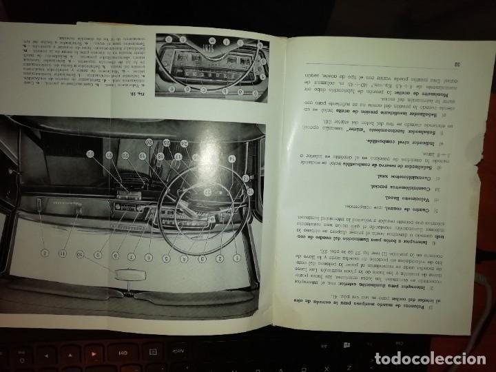 Libros: SEAT 1500 LIBRO DE USO Y ENTRETENIMIENTO AÑO 1963 - Foto 6 - 128763995