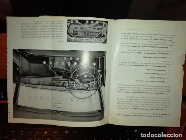 Libros: SEAT 1500 LIBRO DE USO Y ENTRETENIMIENTO AÑO 1963 - Foto 7 - 128763995