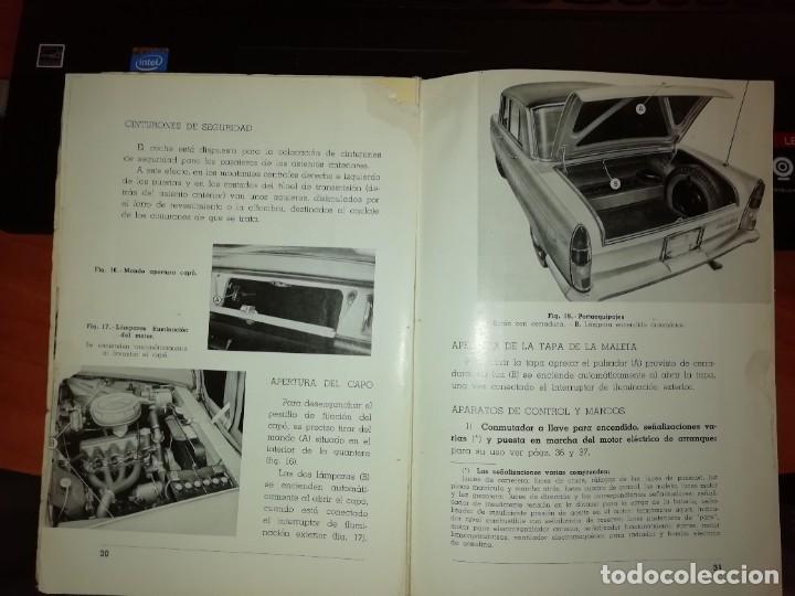 Libros: SEAT 1500 LIBRO DE USO Y ENTRETENIMIENTO AÑO 1963 - Foto 8 - 128763995