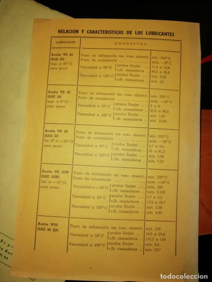 Libros: SEAT 1500 LIBRO DE USO Y ENTRETENIMIENTO AÑO 1963 - Foto 9 - 128763995