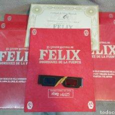 Libros: EL LEGADO NATURAL DE FÉLIX RODRÍGUEZ DE LA FUENTE ED. LIMITADA. Lote 221647637