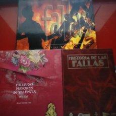 Libros: (3 X 1) FALLERAS MAYORES 1931-2015 JULIO TORMO.- FALLAS DE FEDE PEREX.- HISTORIA DE LAS FALLAS. Lote 221730766