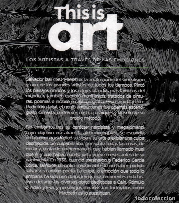 Libros: SALVADOR DALÍ Y LA CULPA MONOGRÁFICO ED EL PAÍS 2020 COLECCIÓN THIS IS ART LIBRO DVD + PLASTIFICADO - Foto 21 - 221893437