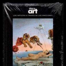 Libros: SALVADOR DALÍ Y LA CULPA MONOGRÁFICO ED EL PAÍS 2020 COLECCIÓN THIS IS ART LIBRO DVD + PLASTIFICADO. Lote 221893437