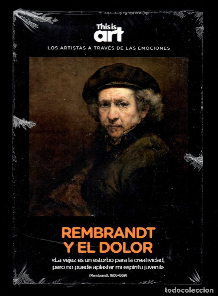 Libros: REMBRANDT Y EL DOLOR MONOGRÁFICO ED EL PAÍS 2020 COLECCIÓN THIS IS ART LIBRO DVD + PLASTIFICADO - Foto 9 - 221916235