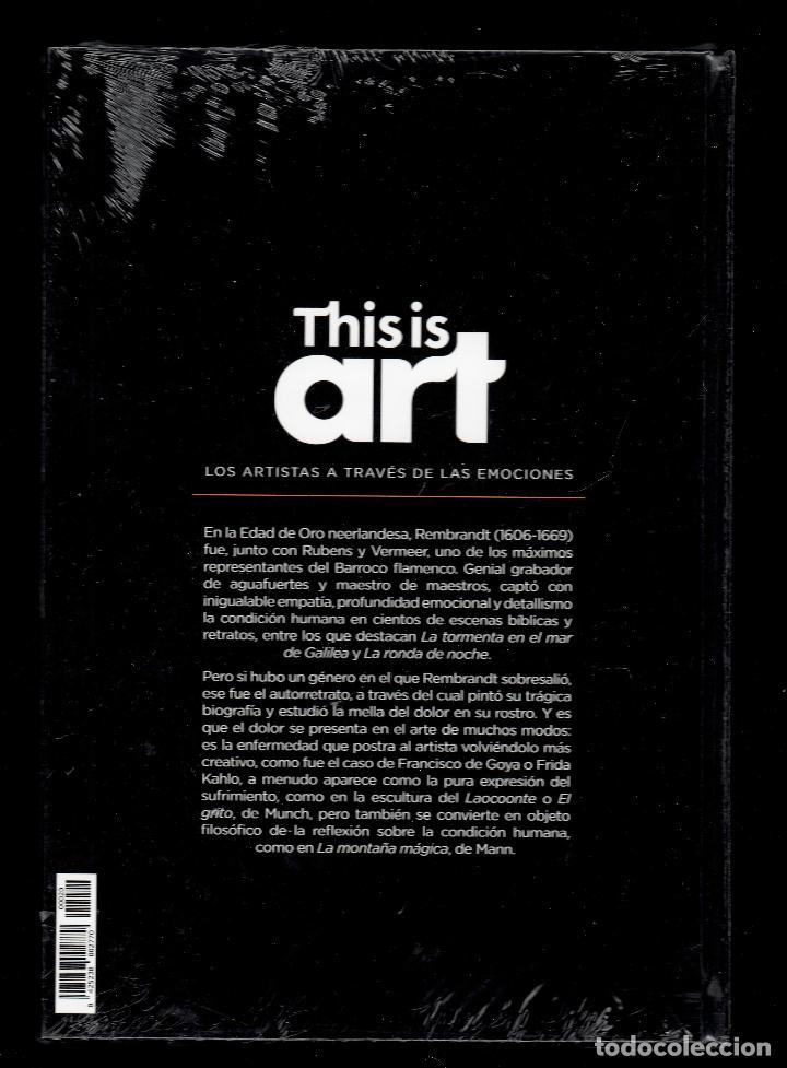 Libros: REMBRANDT Y EL DOLOR MONOGRÁFICO ED EL PAÍS 2020 COLECCIÓN THIS IS ART LIBRO DVD + PLASTIFICADO - Foto 13 - 221916235