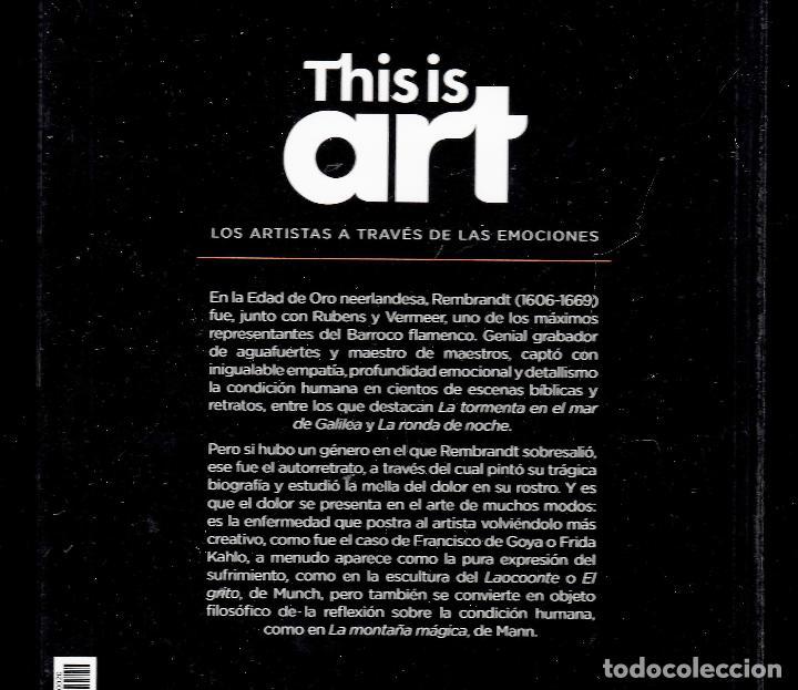 Libros: REMBRANDT Y EL DOLOR MONOGRÁFICO ED EL PAÍS 2020 COLECCIÓN THIS IS ART LIBRO DVD + PLASTIFICADO - Foto 18 - 221916235