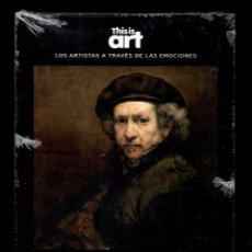 Libros: REMBRANDY Y EL DOLOR MONOGRÁFICO ED EL PAÍS 2020 COLECCIÓN THIS IS ART LIBRO DVD + PLASTIFICADO. Lote 221916235