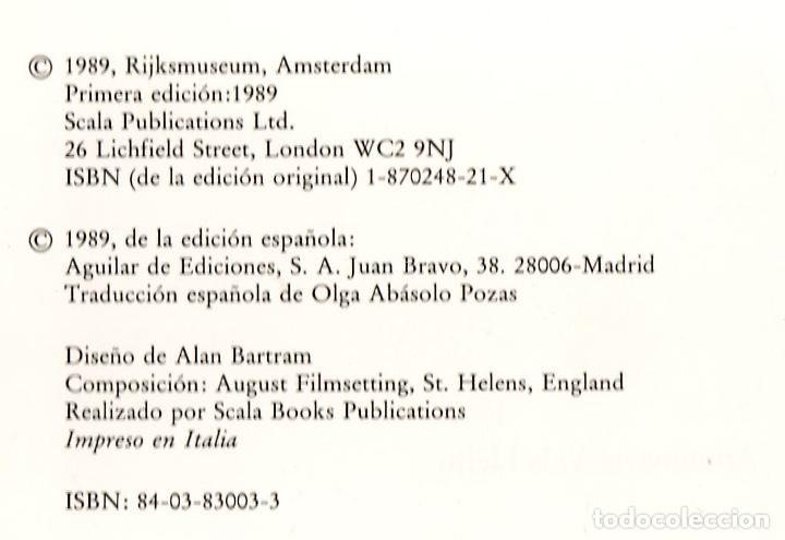 Libros: REMBRANDT ANNEMARIE VELS HEIJN ED AGUILAR 1989 1ª EDICIÓN LECCIÓN ANATOMÍA RONDA DE NOCHE SÍNDICOS - Foto 3 - 222343627