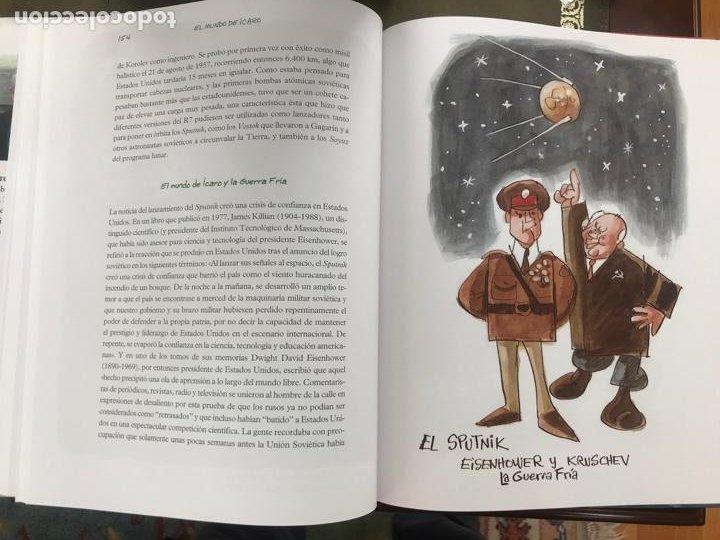 Libros: EL MUNDO DE ICARO - MINGOTE, Antonio y SÁNCHEZ RON, José Manuel - Foto 2 - 222554017