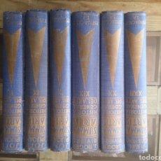 Libros: SUMMA ARTIS HISTORIA GENERAL DEL ARTE. Lote 223066790