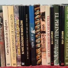 Libros: COLECCION DE 24 TITULOS DE EDICIONES 62 EN CATALAN. VER DESCRIPCION. SIGLO XX. Lote 223555083