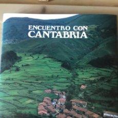 Libros: ENCUENTRO CON CANTABRIA.. Lote 223600143
