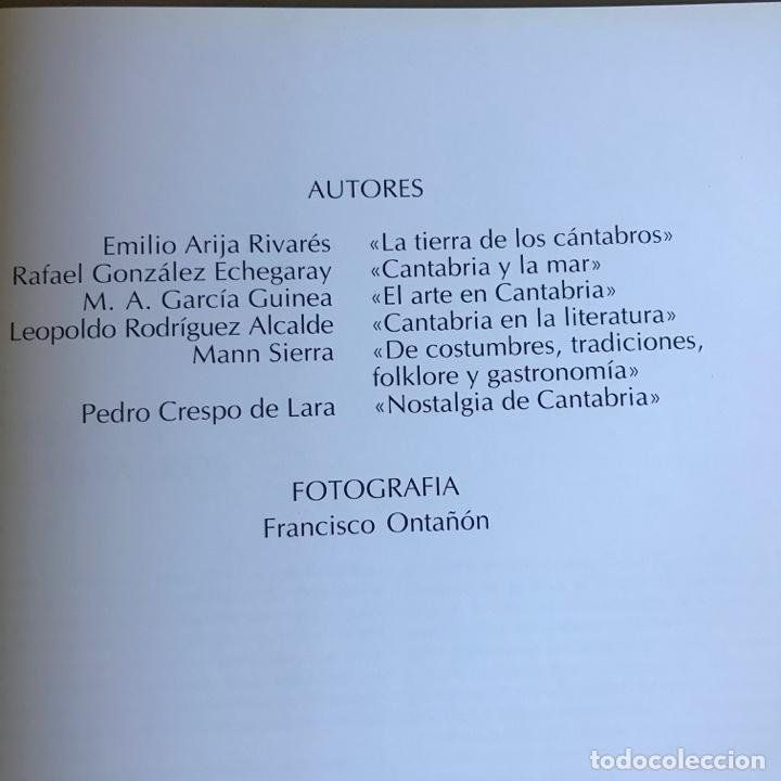 Libros: ENCUENTRO CON CANTABRIA. - Foto 7 - 223600143