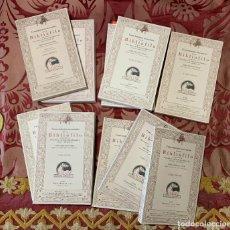 Libros: ROUVEYRE, ÉDOUARD. CONOCIMIENTOS NECESARIOS PARA UN BIBLIÓFILO. COLECCIÓN COMPLETA DE 10 VOLUMENES .. Lote 223738233