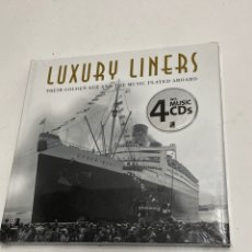 Libros: L-5769. LUXURY LINERS, THEIR GOLDEN AGE AND THE MUSIC PLAYED ABOARD.. Lote 224311340