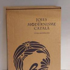 Libros: JOIES DEL MODERNISME CATALÀ ESPAIS INTERIORS. LIBRO DE LUJO / GRAN FORMATO. ED / ENCIC. CATALANA.. Lote 229105435