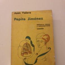 Libros: LIBRO PEPITA JIMENEZ JUAN VALERA BIBLIOTECA CLASICA Y CONTEMPORÁNEA. Lote 234680395