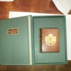 Libros: EL LIBRO DE HORAS ROSS 94.FACSIMIL DE LA BIBLIOTECA VATICANA. Lote 237554770