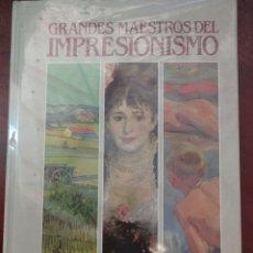 Libros: GRANDES MAESTROS DEL IMPRESIONISMO 1991. Lote 238005875