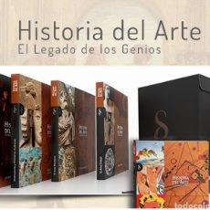 Libros: SIGNO. LAS CREACIONES ARTÍSTICAS DE TODAS LAS ÉPOCAS HISTORIA DEL ARTE: EL LEGADO DE LOS GENIOS. Lote 240369695