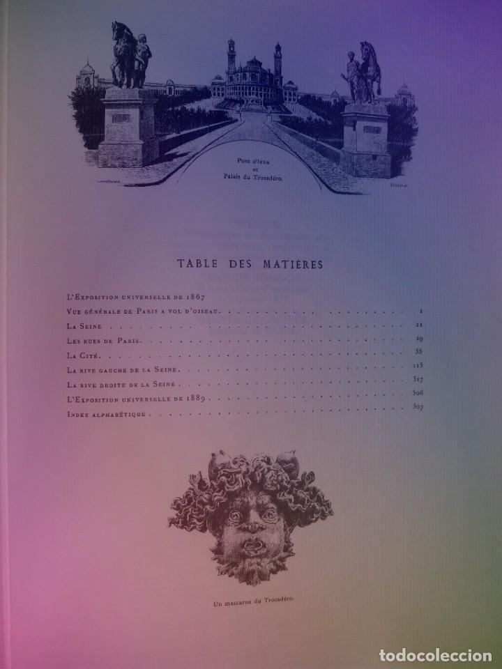 EXTRAORDINARIO Y BELLO LIBRO SOBRE EL PARIS DEL SIGLO XIX AÑOS 70´S (Libros Nuevos - Bellas Artes, ocio y coleccionismo - Otros)