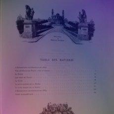 Libros: EXTRAORDINARIO Y BELLO LIBRO SOBRE EL PARIS DEL SIGLO XIX AÑOS 70´S. Lote 242225945