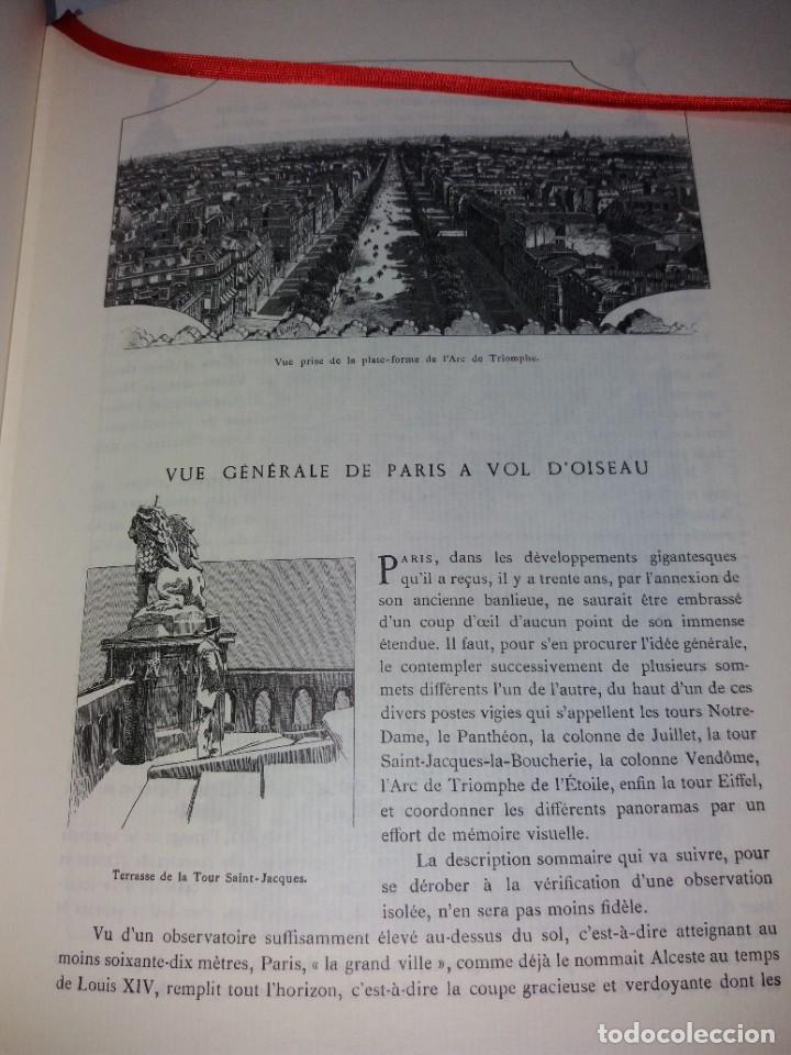 Libros: EXTRAORDINARIO Y BELLO LIBRO SOBRE EL PARIS DEL SIGLO XIX AÑOS 70´S - Foto 49 - 242225945