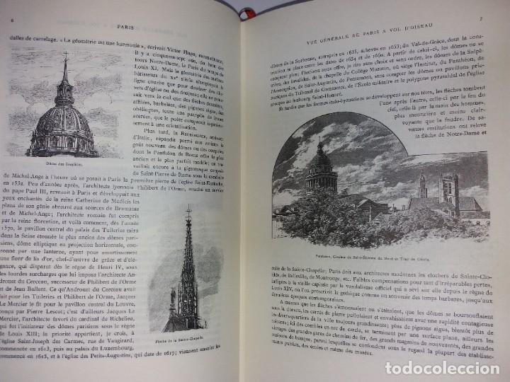 Libros: EXTRAORDINARIO Y BELLO LIBRO SOBRE EL PARIS DEL SIGLO XIX AÑOS 70´S - Foto 52 - 242225945