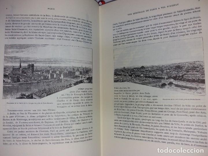 Libros: EXTRAORDINARIO Y BELLO LIBRO SOBRE EL PARIS DEL SIGLO XIX AÑOS 70´S - Foto 61 - 242225945