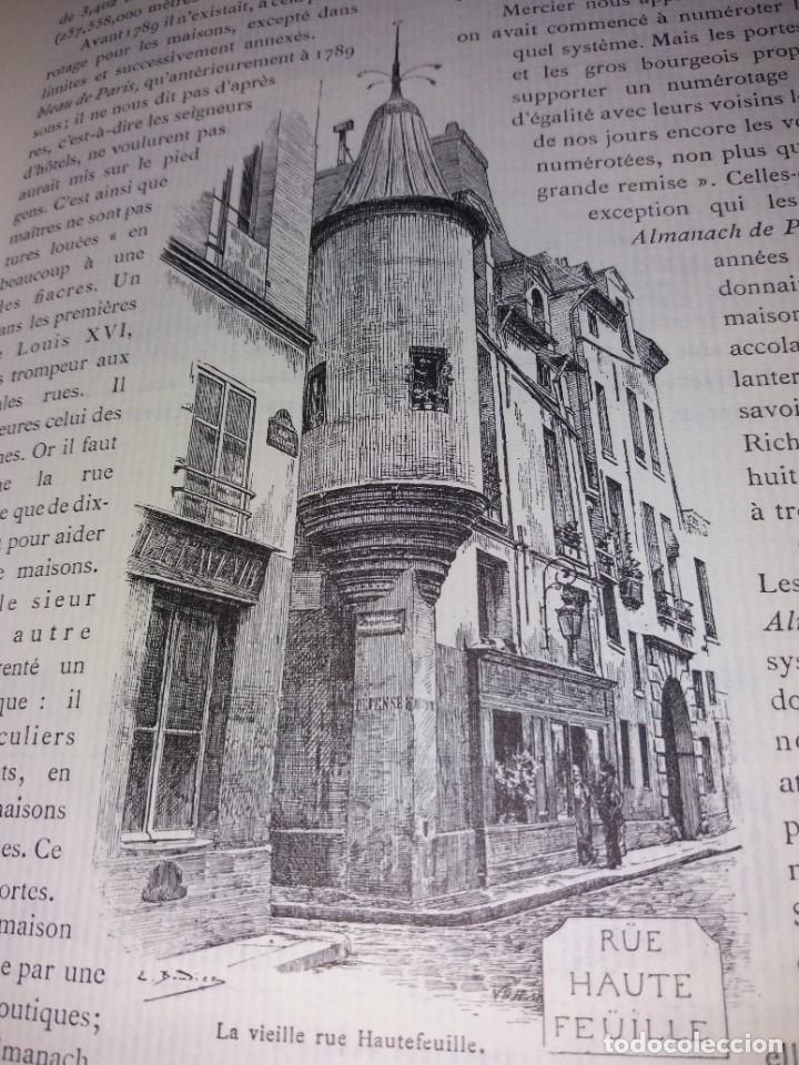 Libros: EXTRAORDINARIO Y BELLO LIBRO SOBRE EL PARIS DEL SIGLO XIX AÑOS 70´S - Foto 75 - 242225945